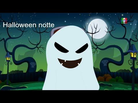 notte di Halloween spaventoso filastrocca canzone di halloween Scary Kids Song Halloween Night