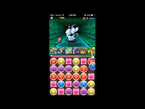 Kaiphas Plays  Puzzle And Dragons: Mystic Water Dragon Master No Continues