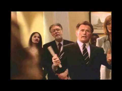 The West Wing: President Bartlet owns religous nut