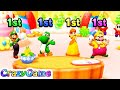 Mario Party Star Rush - Piece of Cake w/ other Minigames Gameplay