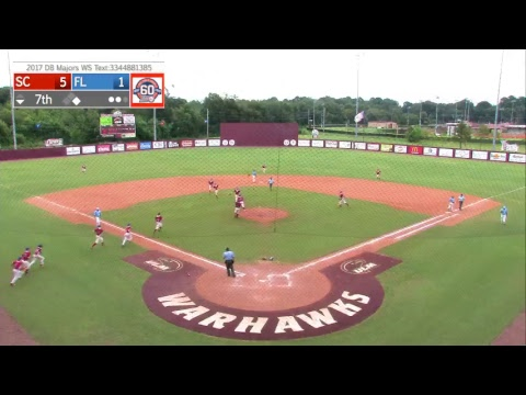 North Charleston, SC vs. Brooksville, FL - DB Majors WS Championship