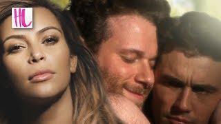 Repeat youtube video Kim & Kanye Respond To James Franco 'Bound 2' Parody Video