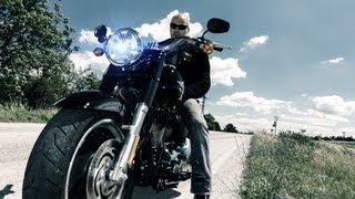 ☢ TERMINATOR ☢ Harley Davidson Fatboy Special mit K.OT