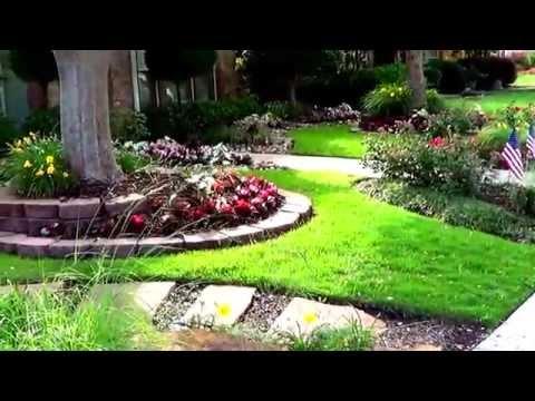 видео: Мой любимый дворик-идеи для цветника