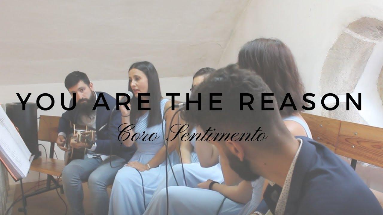 You Are The Reasom  - Calum Scott   Coro SENTIMENTO