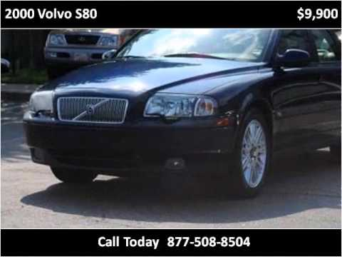 2000 Volvo S80 available from Triangle Imports