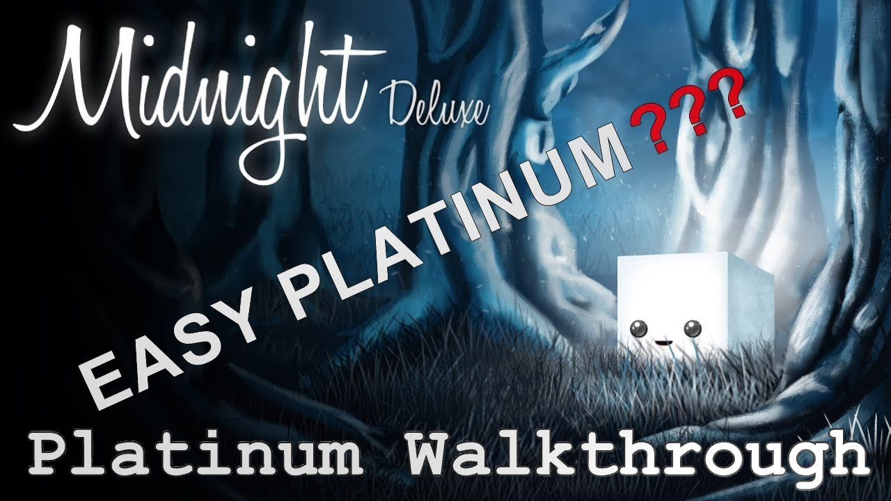 midnight deluxe platinum walkthrough playstation trophy guide rh youtube com playstation 4 trophy guide playstation 4 trophy guide