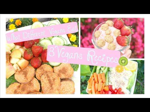8 Vegan Recipes / What Vegans Eat