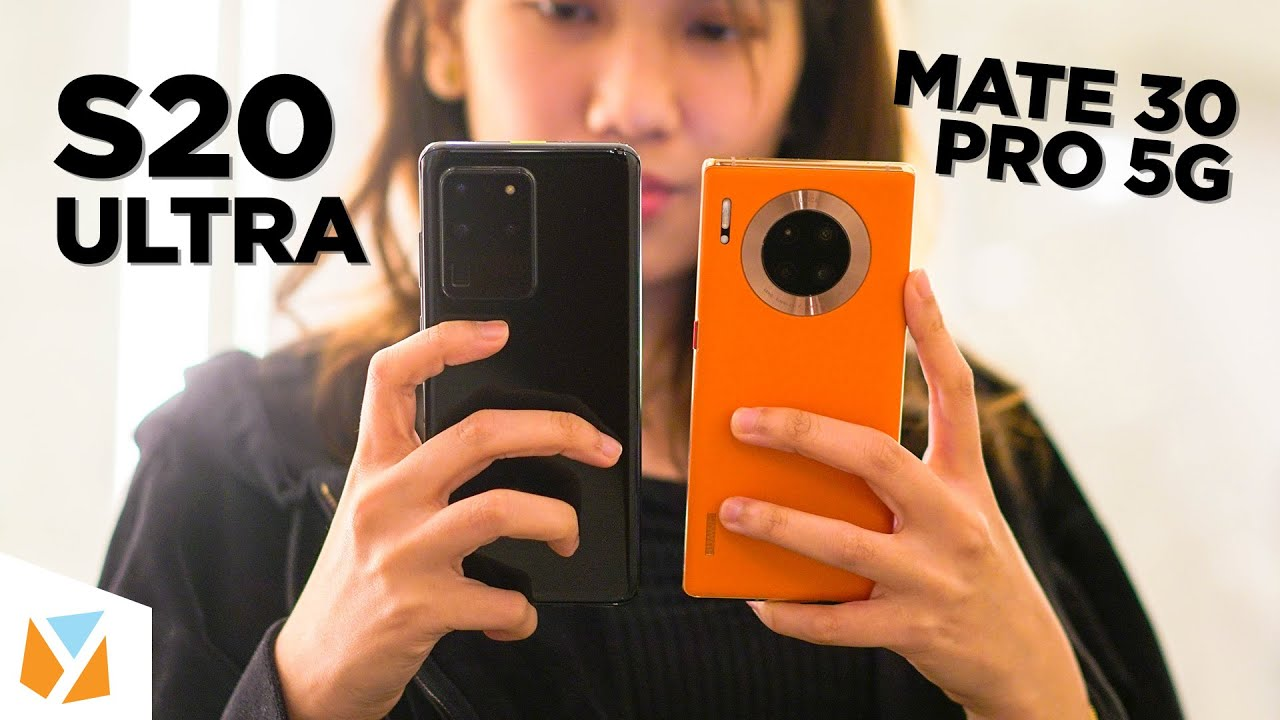 Samsung Galaxy S20 Ultra VS Huawei Mate 30 Pro 5G Comparison Review