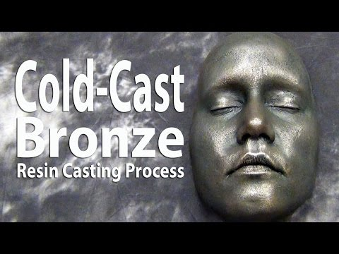 Cold Cast Bronze Resin Casting Tutorial