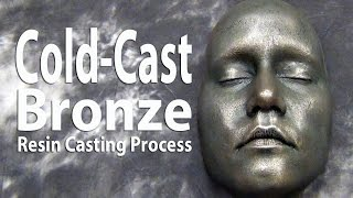 Cold Cast Bronze Resin Casting Tutorial