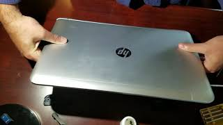 HP Envy 17-s017cl disassembly SSD upgrade w/ instructions.