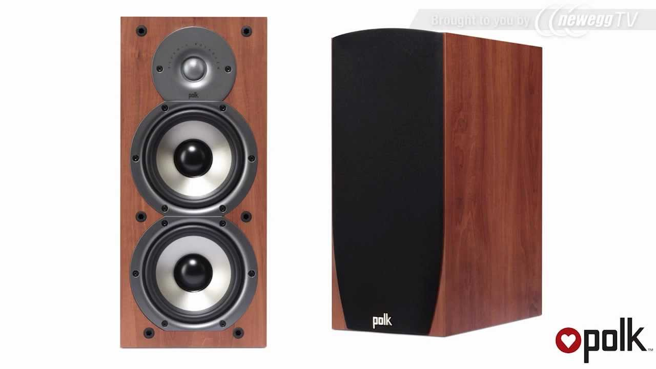 Product Tour Polk Audio Monitor Series Speakers