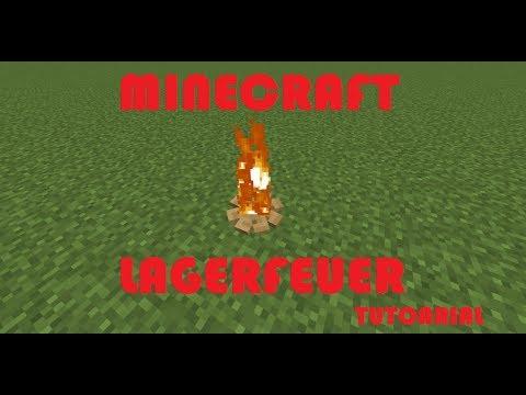 Minecraft Lagerfeuer Tutorial |DEUTSCH HD|