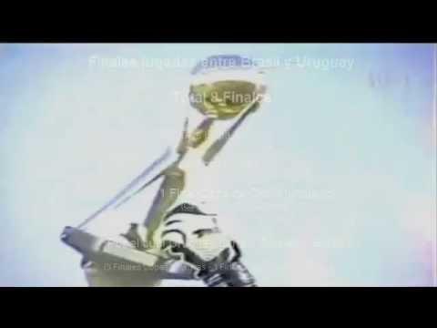 """Títulos oficiales de selecciones absolutas de fútbol. """"Uruguay Brasil Argentina"""""""