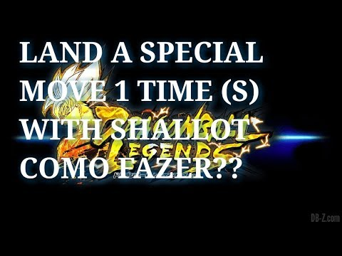 LAND A SPECIAL MOVE 1 TIME (S) WITH SHALLOT