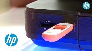 Hoe print ik vanaf een USB stick?