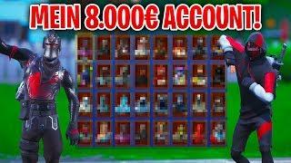 😱 Ich ZEIGE meinen SELTENEN 500.000 V-Bucks ACCOUNT in Fortnite! (500+ Items)