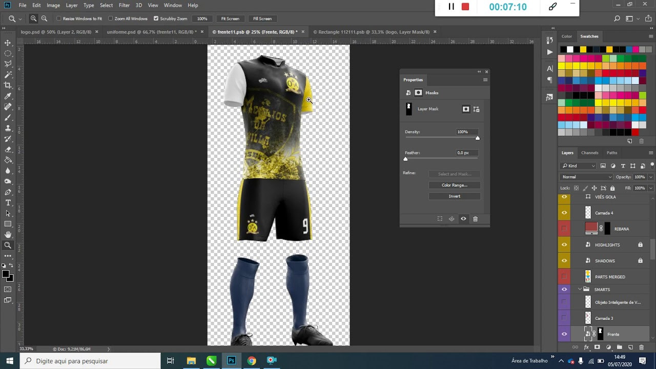 Download FREE JERSEY MOCKUP FOR PHOTOSHOP - YouTube