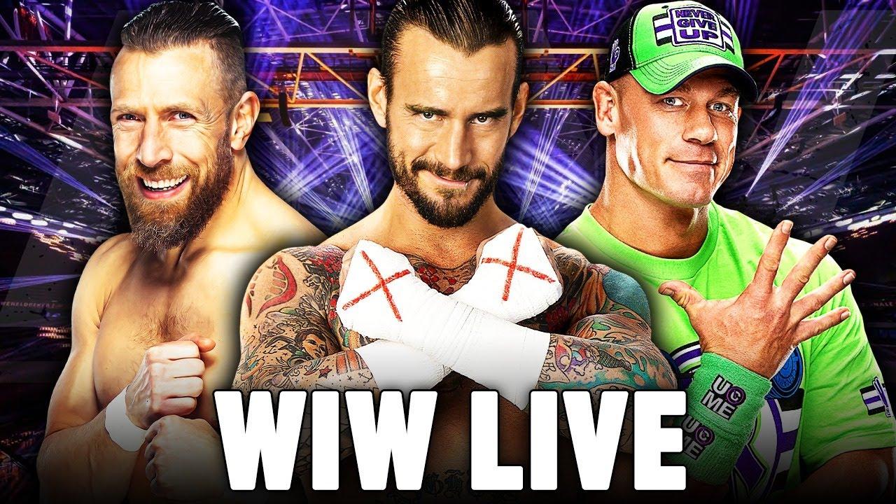 🔴CM Punk i Daniel Bryan w AEW! Plany na Johna Ceny i więcej! - WIW LIVE