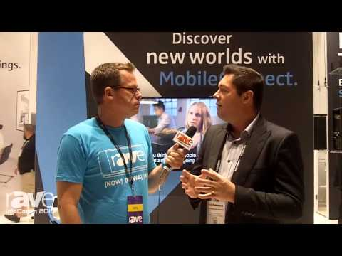 InfoComm 2015: Gary Kayye Talks With Sennheiser's Frederick Girard About MobileConnect