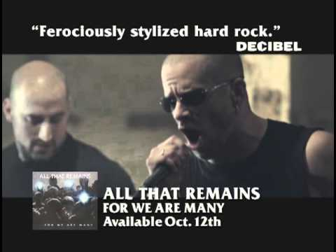 All That Remains  For We Are Many TV Commercial