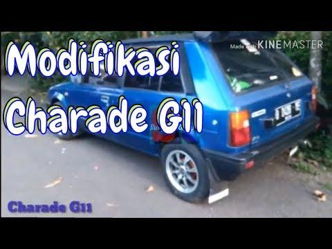 Modifikasi Daihatsu Charade g11