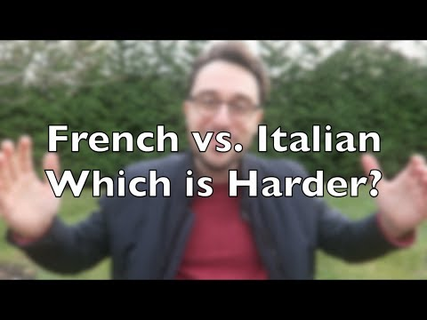 French Vs. Italian - Which Language Is Harder?