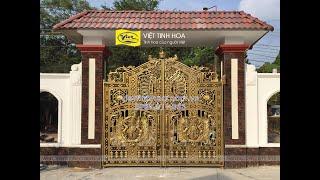 Cổng nhôm đúc Lâm Đồng