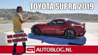 Toyota Supra (2019) rijtest