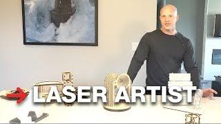 Laser Cutting Artist | Laser Art | Speedy 300