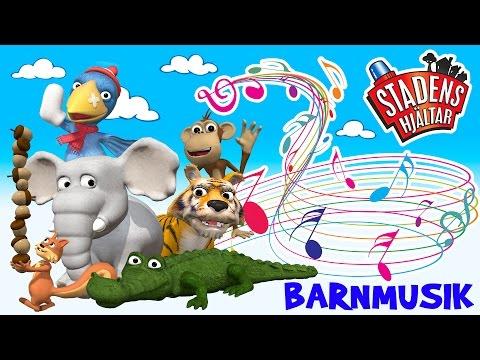 Barnmusik – Djuren på Zoo – Stadens Hjältar
