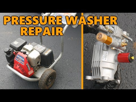 EXCELL/Honda XR2600 Pressure Washer Pump Replacement (Axial Retrofit)