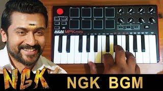 NGK Mass Trailer Bgm | Cover By Raj Bharath | #Surya #Yuvan_Shankar_Raja #NGK_MOVIE