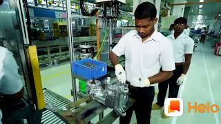 Tvs motor company  bike production