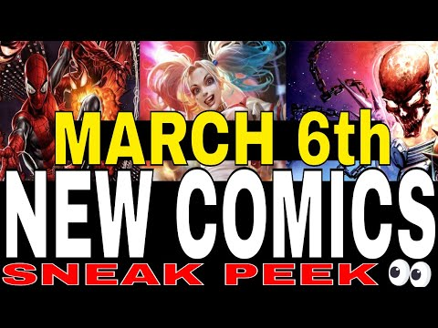NEW COMIC BOOKS RELEASING MARCH 6th 2019 MARVEL AND DC COMICS COMING OUT THIS WEEK NCBD WEEKLY PICKS