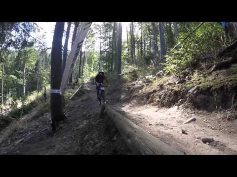 Mistrzostwa Europy Wisła 2015 Downhill Stożek
