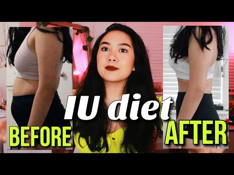 I tried the IU diet for 5 days || kpop idol diet