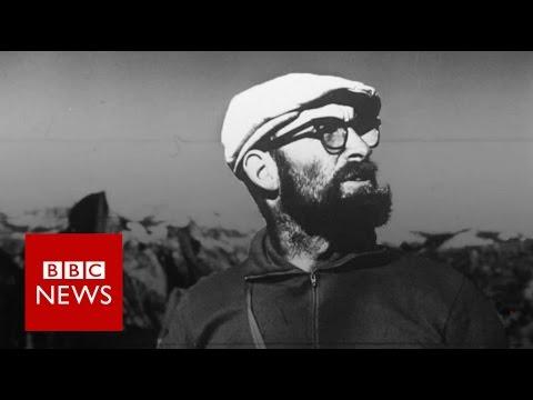 3 rock climbing legends remember Royal Robbins - BBC News