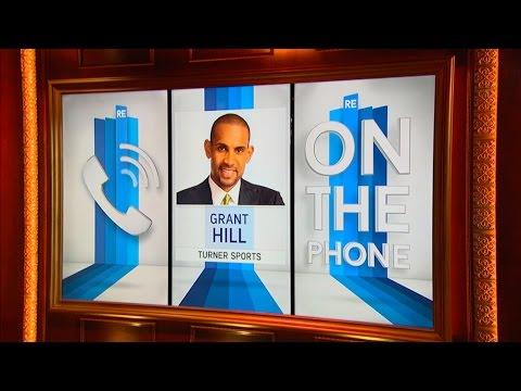 Turner Sports NCAA Analyst Grant Hill Talks Duke, March Madness & More - 3/15/16
