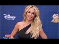 Britney Spears Stuns In Red Hot Mini-Dress