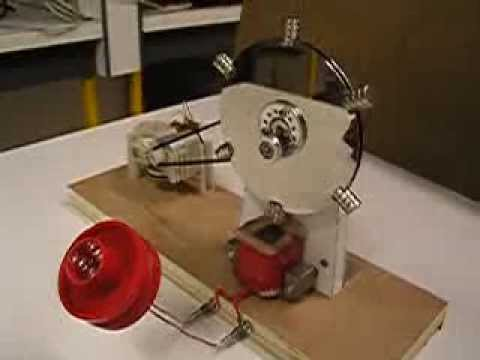 How to make a magnetic generator for school project