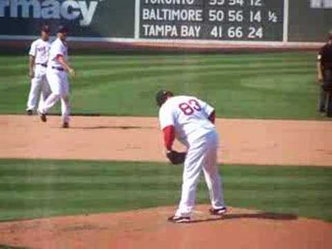 Eric Gagne's Red Sox Debut