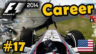 f1 2014 career mode part 17 usa grand prix legend ai