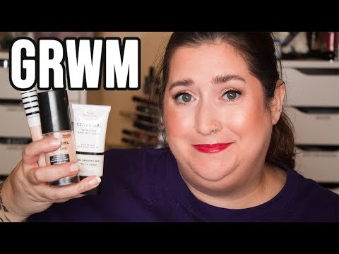 FULL FACE OF NEW COVERGIRL | Super Chatty GRWM - UPDATES GALORE! thumbnail