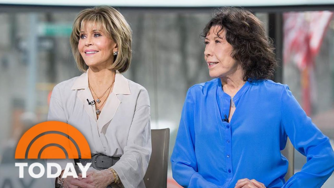 jane fonda and lily tomlin now grace and frankie are selling vibrators today youtube. Black Bedroom Furniture Sets. Home Design Ideas