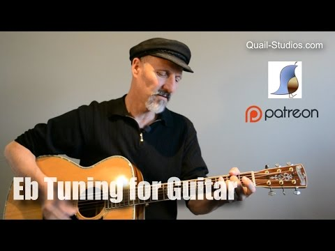 Eb Tuning for Guitar