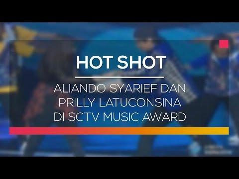 Aliando Syarief dan Prilly Latuconsina di SCTV Music Awards - Hot Shot