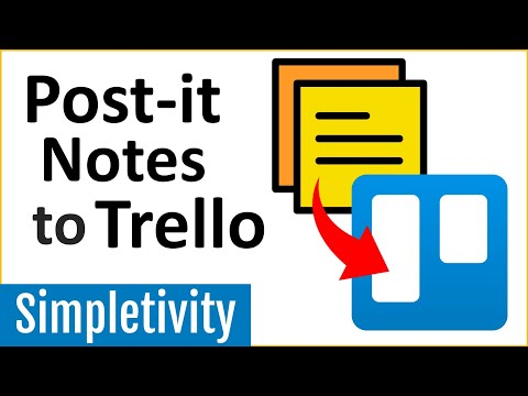 How To Turn Post-it Notes Into Trello Cards! (App Tutorial)