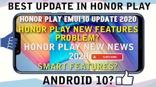 Honor Play & Honor 9 Lite Emui 10 Update | Honor Play New Update | Honor Play Emui 10 | 2020